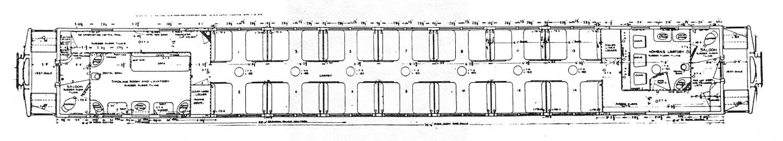Heavyweight Sleeper Car Diagram Pullman Heavyweight